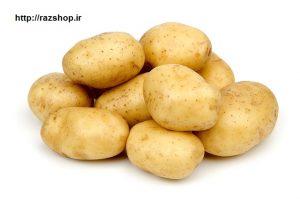 درمان ترک های پوستی با سیب زمینی