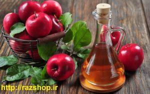 سرکه سیب و درمان پوست مرغی