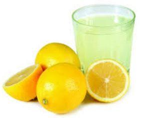 آب لیمو و از بین بردن لک های قهوه ای