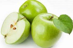 سیب و سفید شدن پوست