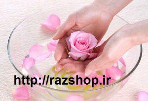 روشن کردن پوست با گلاب