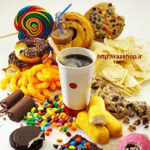 مصرف زیاد مواد شیرین ممنوع