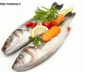 ماهی و درمان خشکی پوست