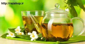 چای سبز و رفع خشکی پوست