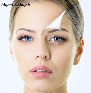 بستن منافذ پوستی با ماسک سفده تخم مرغ
