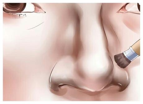 آرایش کوچک کردن بینی با تصویر
