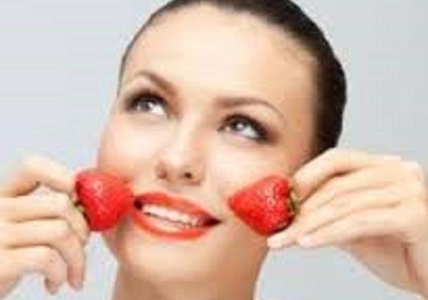 شادابی و نشاط پوست با توت فرنگی